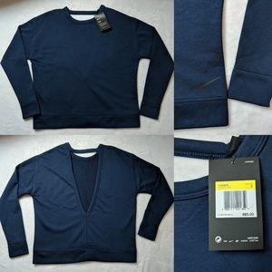 Nike Dry Versa Open Back Training Sweatshirt Top S